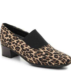 Sesto meucci Leopard Print Square Toe